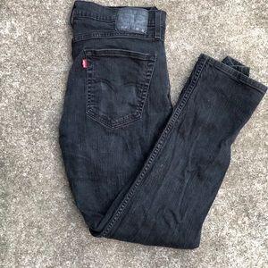 Vintage black Levi's mom jeans, 33 inch